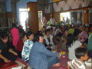 Para anggota Komunitas NPS mulai berkumpul