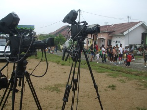 Persiapan menjelang 'rolling camera'