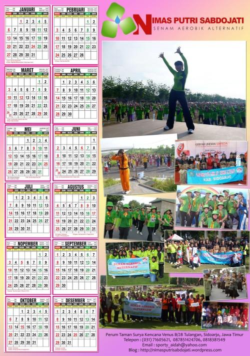 kalender NPS 2013